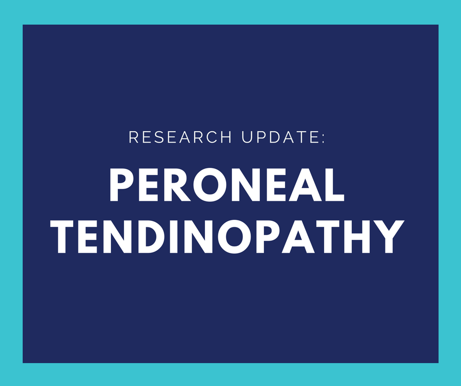 What is a Peroneal Tendinopathy?